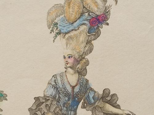 18世紀フランス、貴族の華やかなよそおい