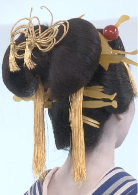 Japanese Traditional Hairdo