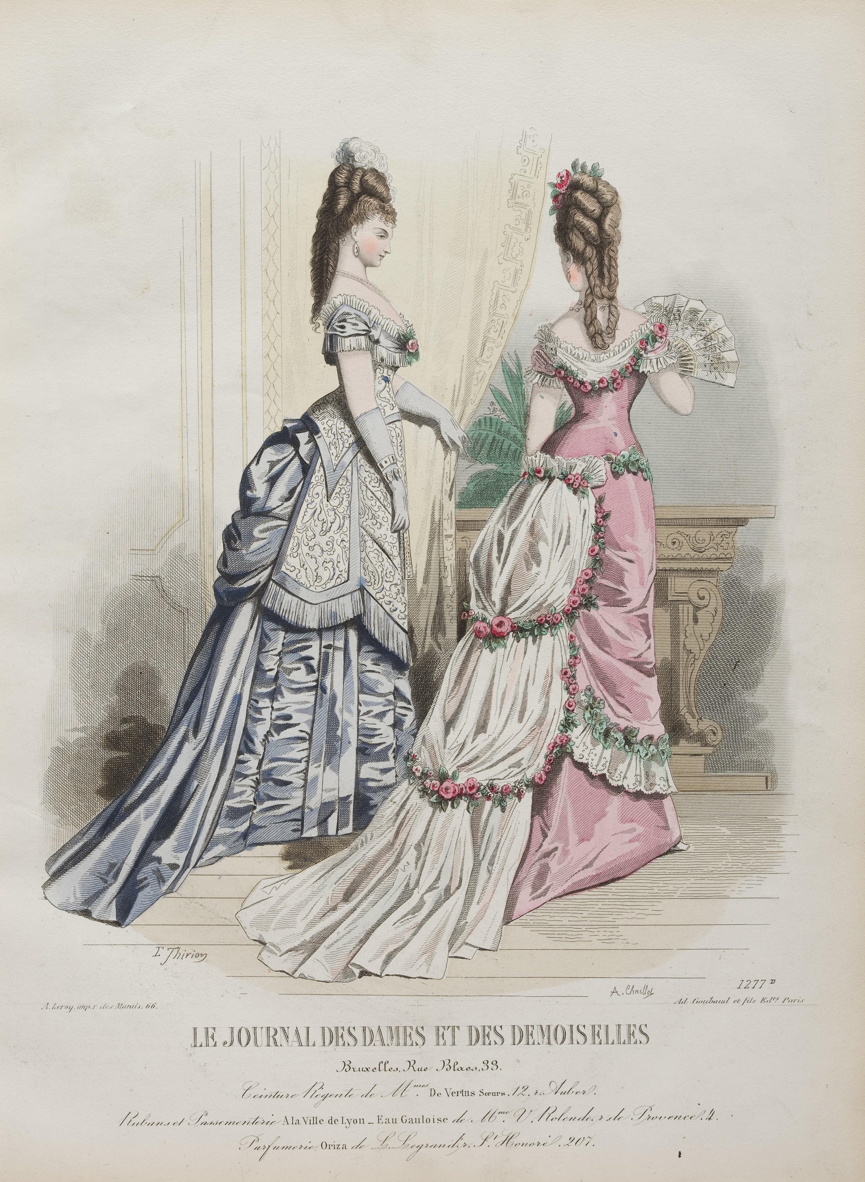 Le Journal des dames et des modes demoiselle、1875年より