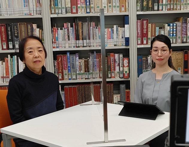 講師を務めた村田孝子シニア研究員(左)と、司会の渡辺研究員(右)