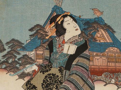 伝統化粧の完成期 <br>江戸時代3 庶民の女性像・美意識