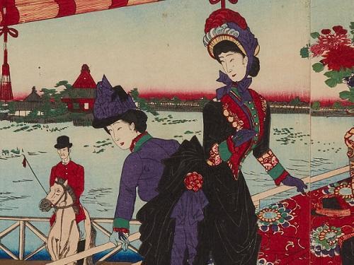 明治時代初期、洋装のはじまり