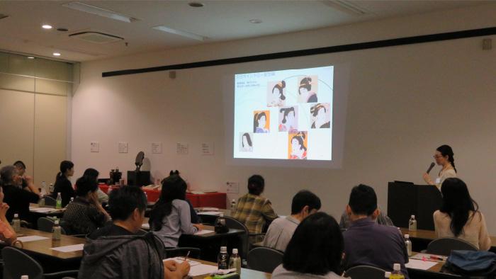 品川区民芸術祭協賛事業 浮世絵をよみとくトークイベント「江戸美人のよそおい」