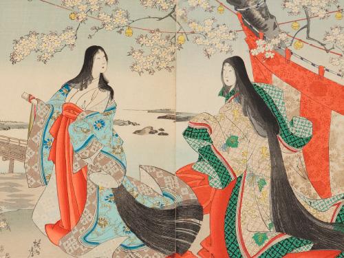 日本髪の誕生と変遷
